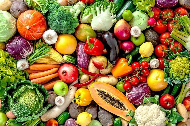 Frutas y verduras- lunes sin carne
