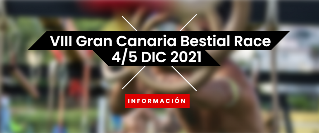 Página de inicio de VIII Gran Canaria Bestial Race